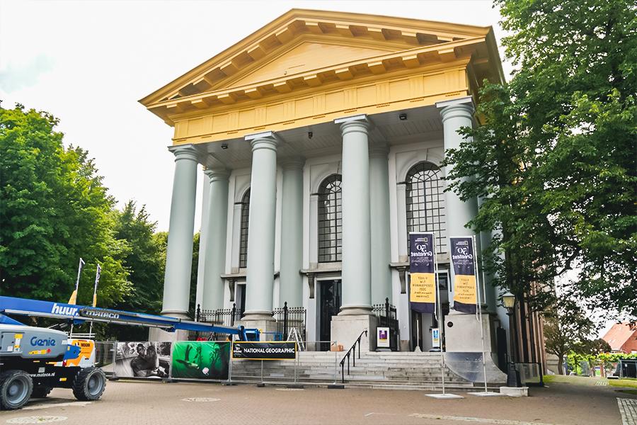 Traas Building Care project Nieuwe kerk Zierikzee