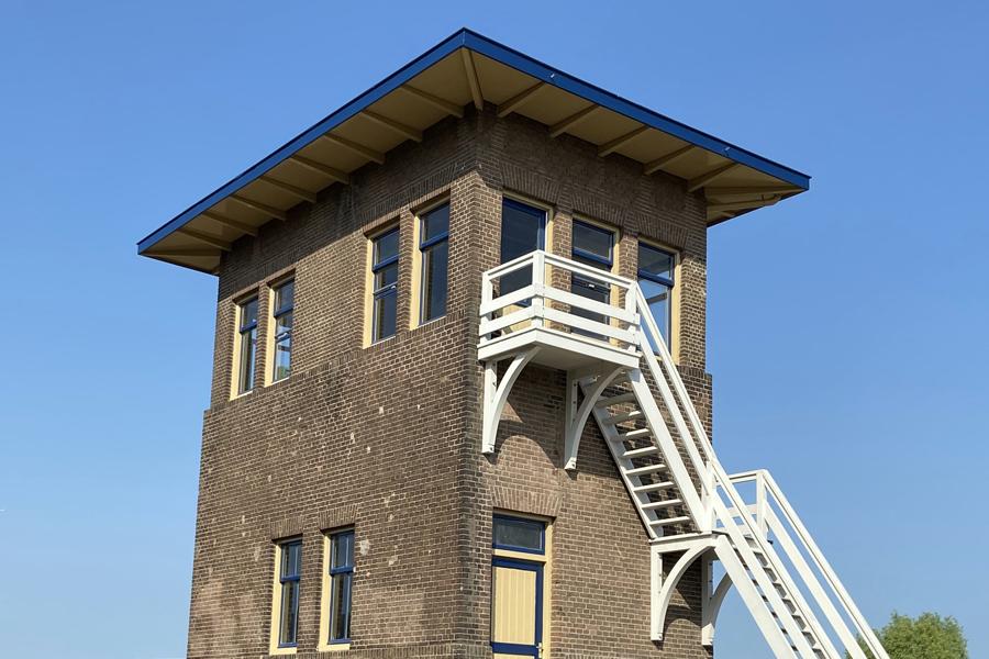 Traas Building Care project Balkkopherstel Stoomtrein Goes Borsele SGB seinhuis