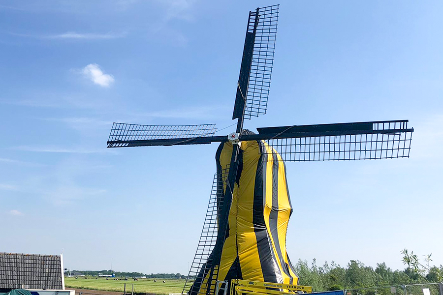 Traas Building Care project Vlietmolen Lexmond
