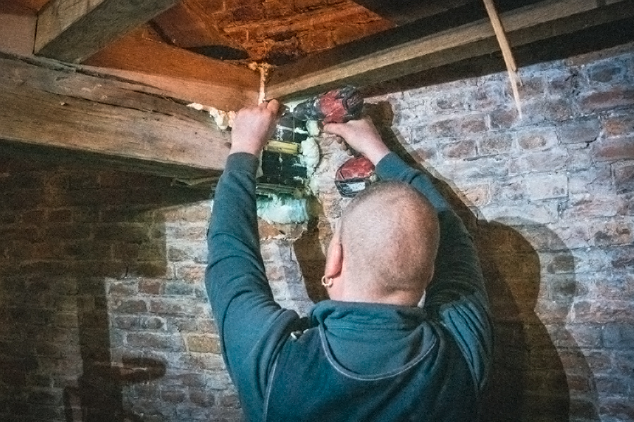 Traas Building Care heropbouw